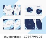 wave and liquid   set of... | Shutterstock .eps vector #1799799103