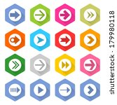 16 arrow icon set 03  white...