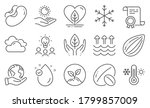 Set Of Nature Icons  Such As...