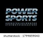 vector metallic emblem power... | Shutterstock .eps vector #1799859043