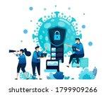 vector illustration of data... | Shutterstock .eps vector #1799909266