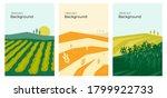 vector illustrations with farm... | Shutterstock .eps vector #1799922733