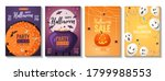 halloween banners. brewing... | Shutterstock .eps vector #1799988553