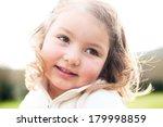 adorable happy smiling little...   Shutterstock . vector #179998859