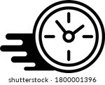 counting speed line icon....   Shutterstock .eps vector #1800001396