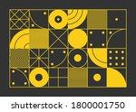 color geometric design  vector... | Shutterstock .eps vector #1800001750