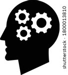 knowledge icon vector.idea icon ...   Shutterstock .eps vector #1800013810