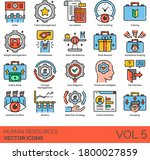 Human Resources Icons Including ...