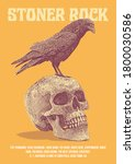 Stoner Rock Gig Poster Flyer...