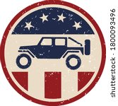 usa off road 4wd logo with... | Shutterstock .eps vector #1800093496