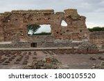 Roman City Bathouse Entrance...