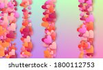 valentine's day background.... | Shutterstock .eps vector #1800112753