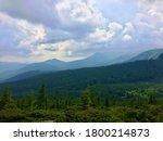 beauty of wild virgin ukrainian ... | Shutterstock . vector #1800214873