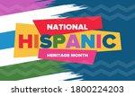 national hispanic heritage...   Shutterstock .eps vector #1800224203