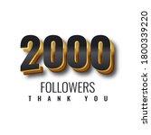 Thank You 2000 Followers 3d...