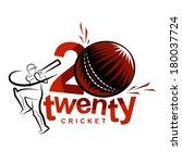 twenty twenty international... | Shutterstock .eps vector #180037724