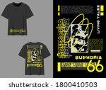 industrial streetwear t shirt... | Shutterstock .eps vector #1800410503