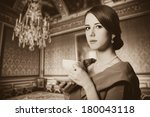 Beautiful Women With Cup Of Te...