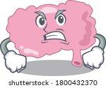 a cartoon picture of brain... | Shutterstock .eps vector #1800432370