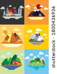 six weather season all the time ... | Shutterstock .eps vector #1800436936