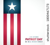 september 11  patriot day in... | Shutterstock .eps vector #1800467173