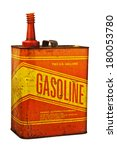 An Old Red And Yellow Gas Can...