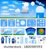 Meteorology Vector Illustration ...