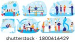 banquet food party celebration... | Shutterstock .eps vector #1800616429