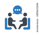group discuss icon. group...   Shutterstock .eps vector #1800622606