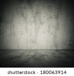 Empty Room With Concrete Wall ...