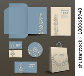 stationery  corporate image... | Shutterstock .eps vector #180065948