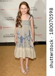 Small photo of Abigail Breslin at LITTLE MISS SUNSHINE Premiere, AMC Loews Lincoln Square Theater, New York, NY, July 25, 2006