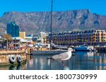 Seagull In Cape Town Port And...