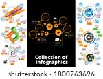 business infographic layout.... | Shutterstock .eps vector #1800763696