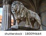 Munich  Bavarian Lion Statue I...