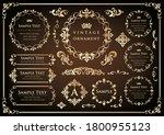 set of vintage elements for...   Shutterstock .eps vector #1800955123