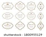 set of vintage elements for... | Shutterstock .eps vector #1800955129
