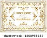 set of vintage elements for... | Shutterstock .eps vector #1800955156