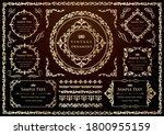 set of vintage elements for... | Shutterstock .eps vector #1800955159