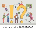 people are looking for answers... | Shutterstock .eps vector #1800970363