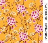floral seamless pattern... | Shutterstock .eps vector #1801061593