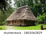 Old Authentic Wooden House With ...