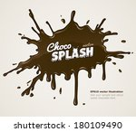 Chocolate Splash Blot With...