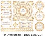 set of vintage elements for... | Shutterstock .eps vector #1801120720