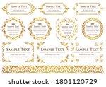 set of vintage elements for... | Shutterstock .eps vector #1801120729