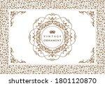 set of vintage elements for... | Shutterstock .eps vector #1801120870