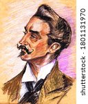 A series of great writers. Marcel Proust, born 1871 - French writer