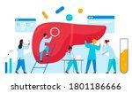 doctors scientists people in...   Shutterstock . vector #1801186666