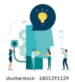 business concept vector... | Shutterstock .eps vector #1801291129