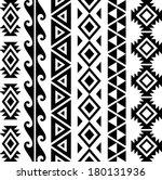 aztec tribal seamless pattern... | Shutterstock .eps vector #180131936